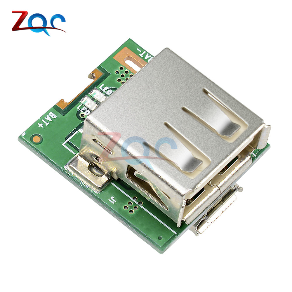 5pcs DC 5V Step Up Power Module Lithium Battery Charging Protection Board Boost Converter LED Display USB For DIY Charger 134N3P