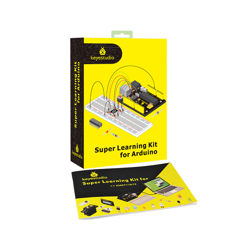 Купить с кэшбэком Keyestudio Super Starter kit/Learning Kit(UNO R3) for Arduino Education  with 32 Projects +User Manual+ RFID 1602+PDF(online)