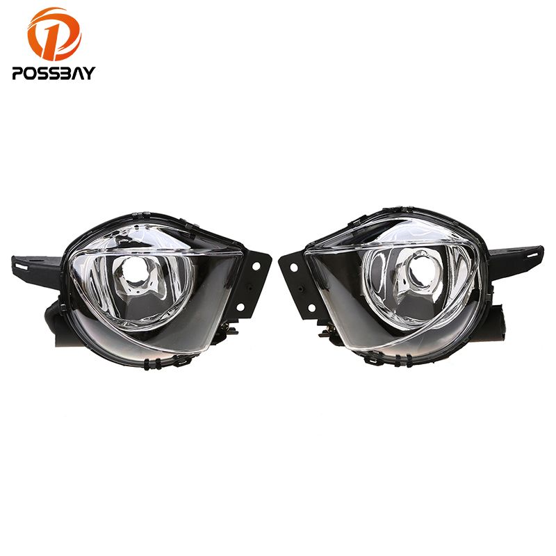 Possbay Car Front Fog Lights Cover Protector For Bmw E90