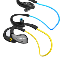 NFC Connection Bluetooth Sport Earhook Earbuds Headset Super Bass Noise Reduction Music Call Earphone with USB Cable Ear Caps