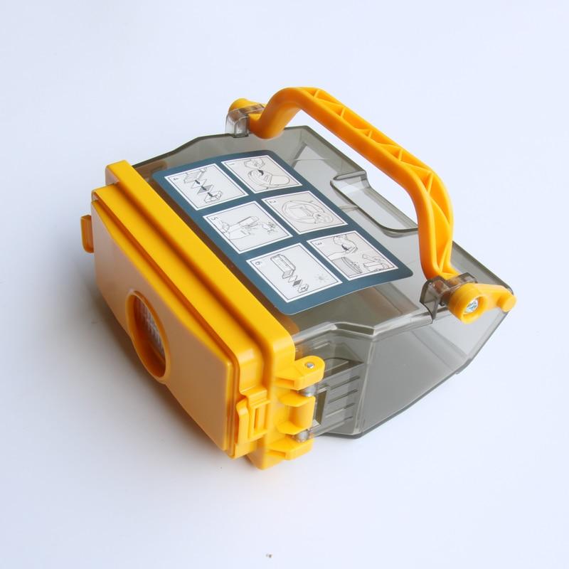 1 Pcs Dust Box Bin for Ecovacs Deebot CEN630 620 630 650 660 680 CEN530 CR631 Robot Vacuum Cleaner Parts Accessories Filters vacuum pump inlet filters f006 1 rc2 1 2