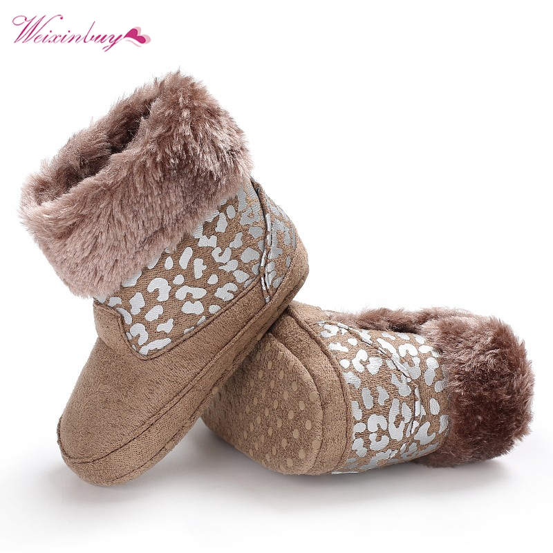 Casual Baby Girl Boy Shoes Hair Ball Snow Princess Winter Warm Shoes Lovely Fur Ball Pu Crib Shoes 1pcs Solid Tassels Shoes Selected Material Baby Shoes Crib Shoes