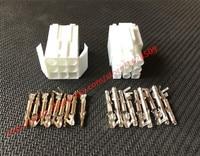 20 Sets Female And Male Small Tamiya Connector Kits Mini Tamiya EL 4.5MM Socket Plug With 9 Way 9 Pin