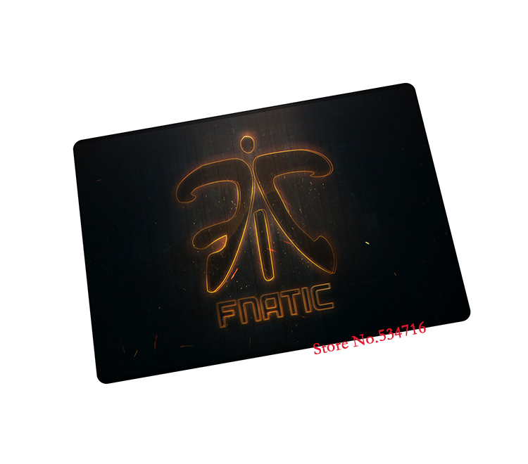 fnatic mouse pad New arrival gaming mouse pad laptop large mousepad gear notbook computer pad to mouse gamer brand play mats