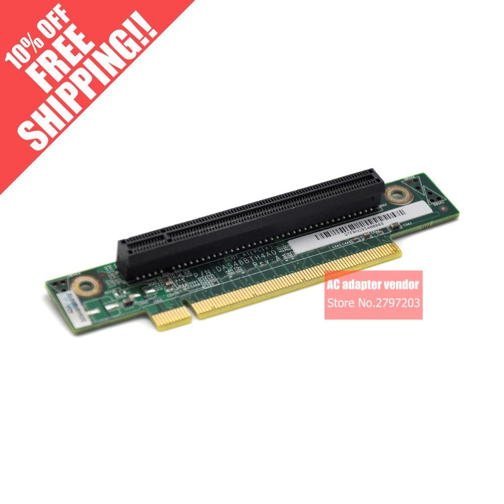 PCI-E turn card 90 degrees 16X riser card riser card standard 1U chassis riser card