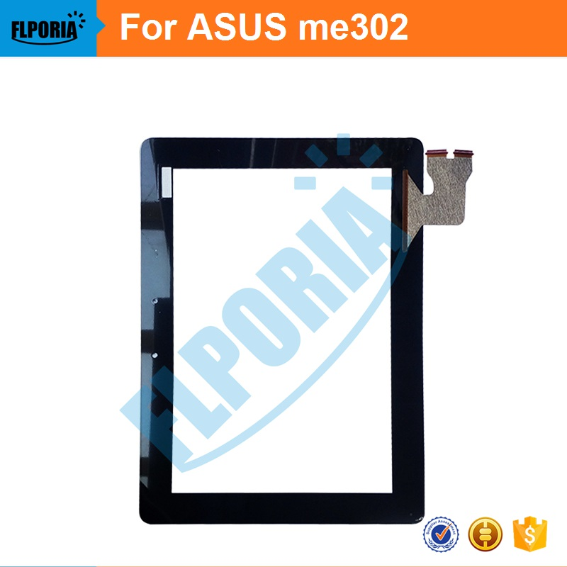 Tablet Touch Panel 10.1'' Inch For ASUS me302 Touch Screen Digitizer Front Glass with Flex Cable Assembly 100% New new touch panel for ipad air 1 ipad 5 touch screen digitizer flex cable front glass assembly adhesive with home button t0 3