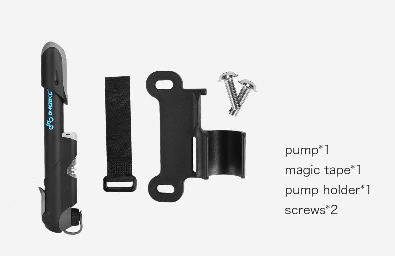 estore kart bike accessories new arrival Portable Bicycle Air Pump free accessories