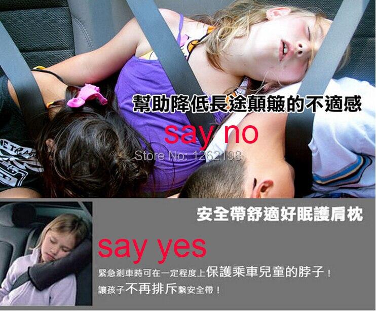 baby car seat pillowkids car sleeping neck pillow padharness child safe car