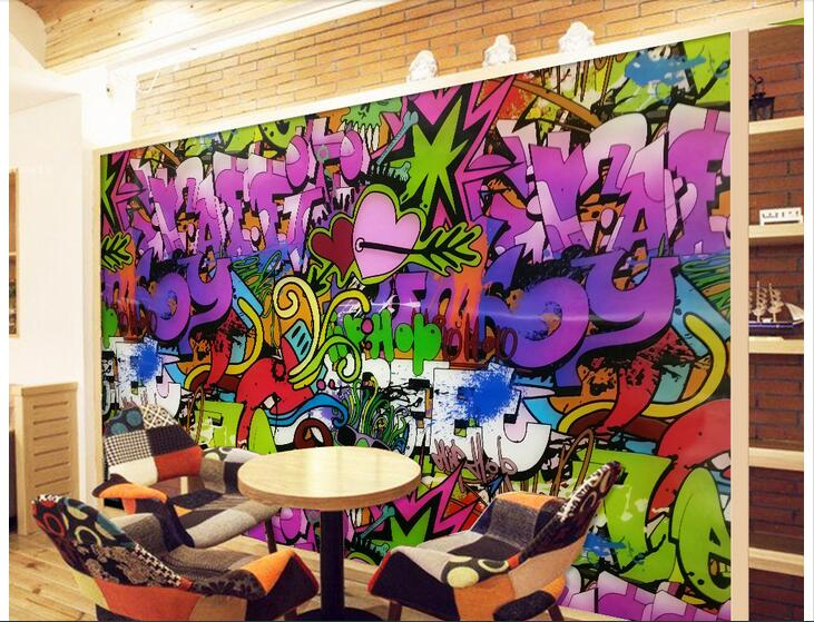 Custom photo 3d wallpaper Non-woven mural wall sticker Graffiti art wall painting picture 3d wall room murals wallpaper flower bridge river pattern 3d wall art sticker