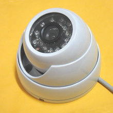 1/3″ 600TVL SONY CCD IR Color CCTV Outdoor Security Waterproof Dome Camera 24 IR LEDs Night vision