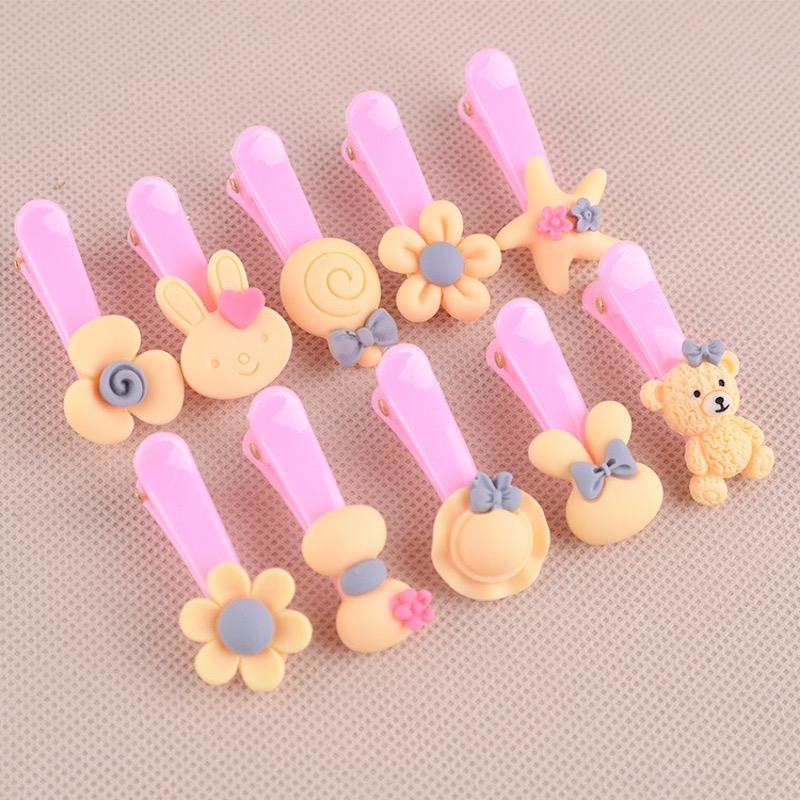 1 Pcs Baby Girl Hairpin Hair Clip Butterfly Toddler Kids Children Accessories Headwear Hoop