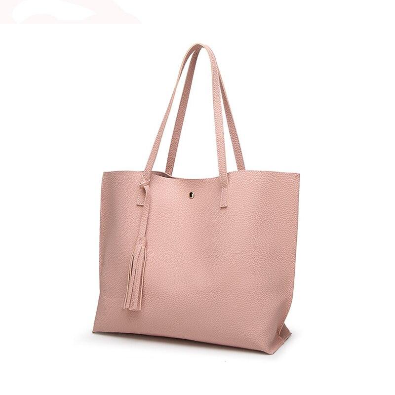 Women Bags Handbag Tote Crossbody Over Shoulder Sling Designer Leather Fringe Tassel Casual Shopping Big Black Lady High Quality