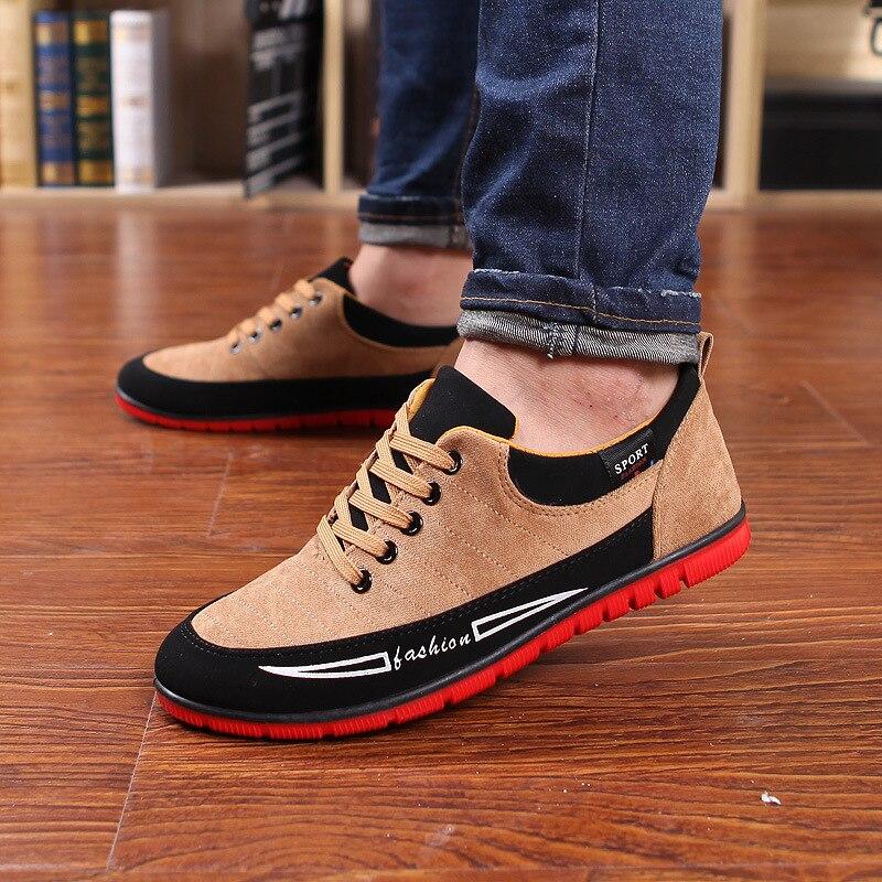 nero Merkmak scarpe traspirante 2018 scarpe luce maschile primavera morbida Dropship appartamenti alta qualità scarpe Casual moda Outdoor gialle blu scarpe stile W11rTF