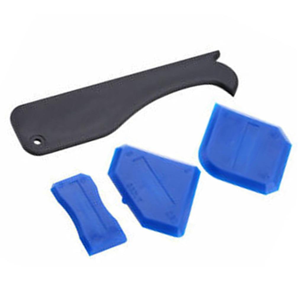 Новое поступление 8 шт./компл. герметик шпатель набор инструментов для чеканки шарнир силиконовый скребок для удаления решетки Лидер продаж дропшиппинг - Цвет: blue black