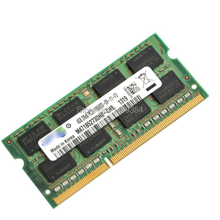 4GB 2Rx8 Memory Card For Macbook Pro For Sumsung SAM DDR3 PC3 - 10600S - 09 -11 - F3 M471B5273DH0 - CH9 1319