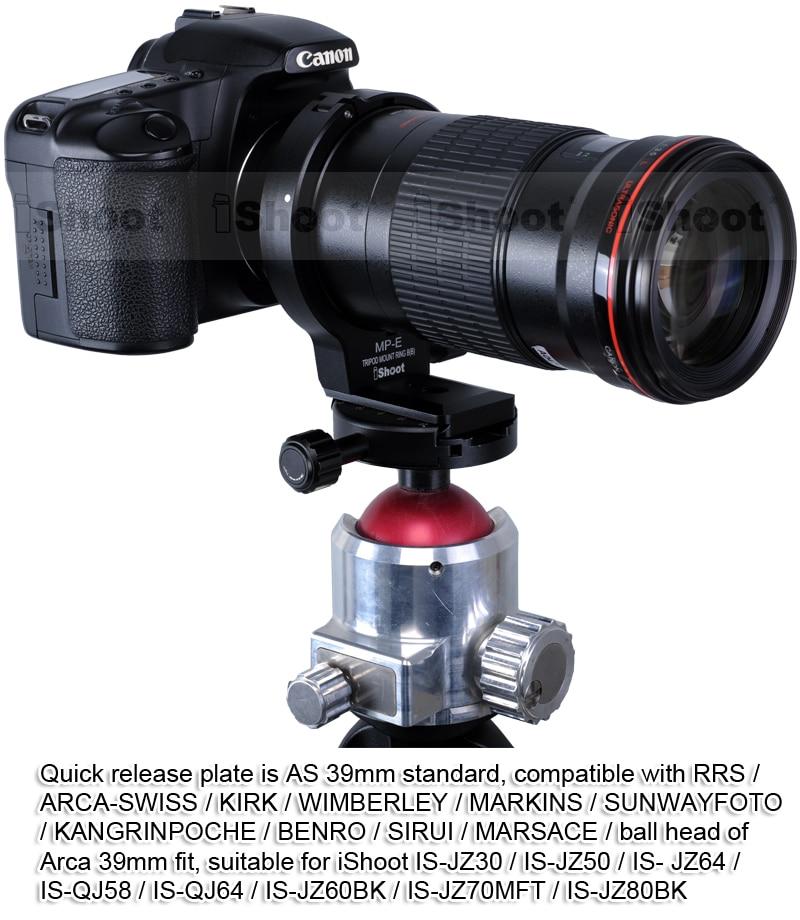 Крепление для штатива объектива для Canon MP-E 65 мм f/2,8 1-5X Макросъемка, Canon EF 180 мм f/3.5L Макросъемка USM Объектив-может заменить Canon B(B