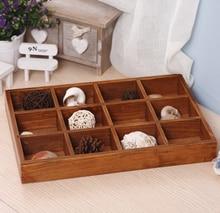 Zakka продуктовый ящик для хранения сделать старый маленький ретро деревянный ящик коробка ювелирных изделий мини цветочный горшок лоток стол организатор