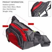 Sougayilang New Red Fishing Bags Pesca Multi-Purpose Waterproof Polyester Fishing Bag Carp Reel Lure Outdoor Fishing Tackle Bag