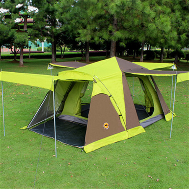 Samcamel 3 4 Person Large Family Tent Large Camping Tent Sun Shelter Gazebo Beach Tent