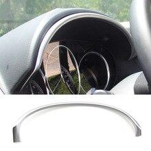Для Mazda Cx-5 Cx5 KE 2012 2013 хромированная интерьерная панель приборной панели, накладка, ободок, Полоска, молдинг, гарнир