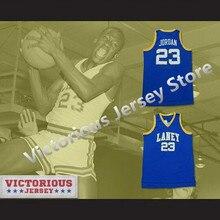 157620e9d84 Minanser Michael Jordan 23 Laney High School Buccaneers Basketball Jersey  Men(China)