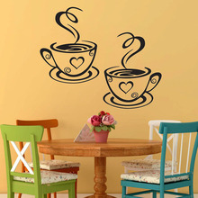 Coffee cups Wall Stickers Decals