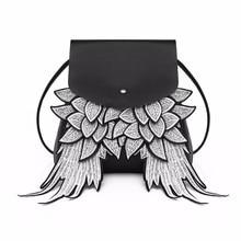 Water bucket shoulder bag Cartoon cute angels wing damp