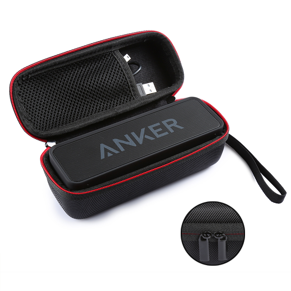 New EVA Speaker Protective Case Cover Portable Carrying Storage Box Bag Pouch for ANKER Soundcore Dual-driver Bluetooth Speakers