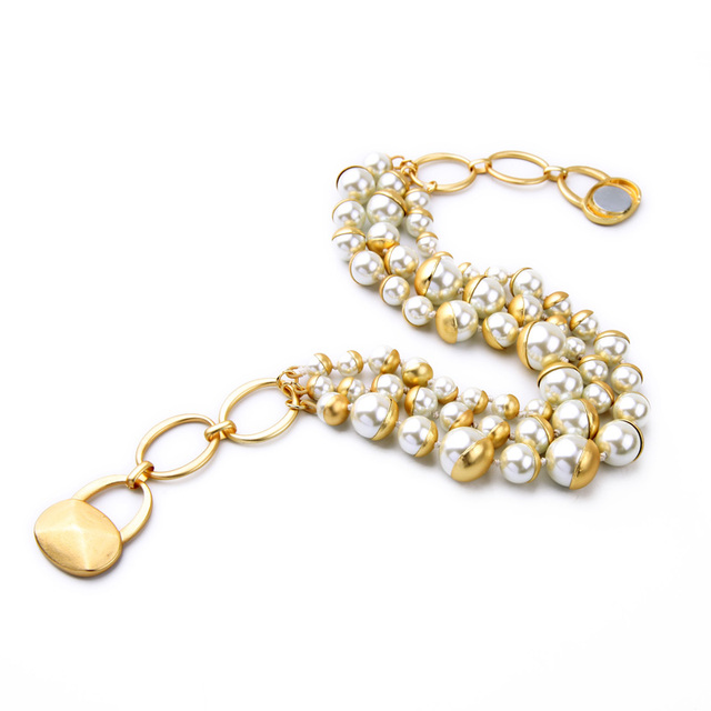 Fashion Pearl Statement Necklace