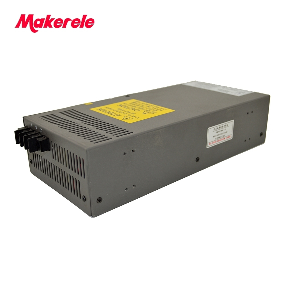 High power CE safe package SCN-800-27 800w 27v 30a Single Output Switch Mode Power Supply with PFC function