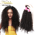 4pcs lot Nadula hair unprocessed Brazilian virgin hair 10-26inch Brazilian curly virgin hair weave, 7a cheap human hair weave
