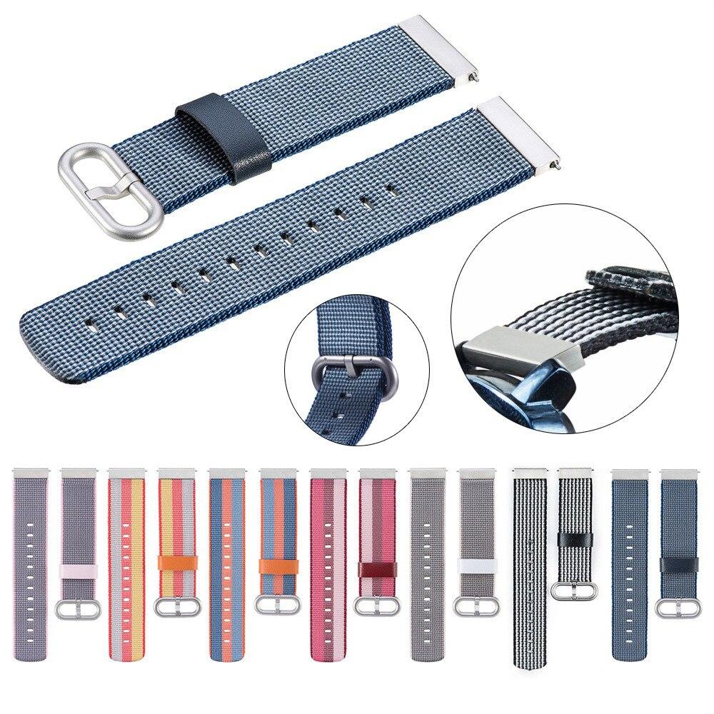 Nylon Weave Strap Band Wrist Strap 20mm For Ticwatch 2/Ticwatch E/Misfit Vapor bracelet for watches gear s3 classic nato strap цена и фото