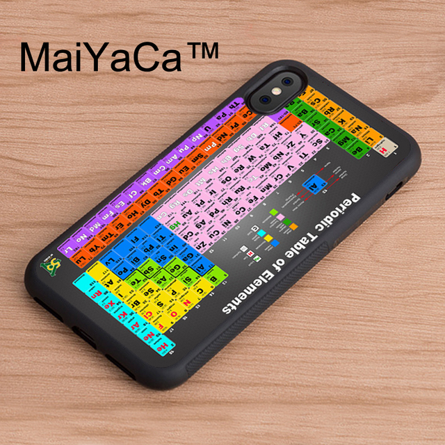 Maiyaca Chemical Chemistry College Periodic Tables Tpu Case For