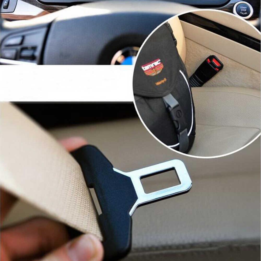 Cinturón de seguridad de coche hebilla abrelatas de botella para Skoda Octavia Yeti Roomster Fabia rápido superb KODIAQ citigo KAMIQ KAROQ SCALA de VISIO