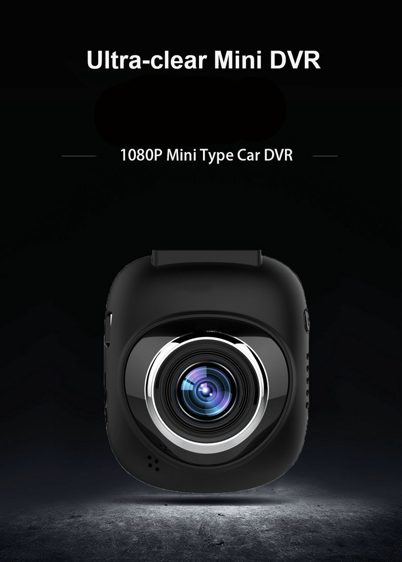 1.5 inch Mini LCD Car Dvr Camera Recorder with FHD 1080P, Night Vision, Loop Recording for drivers