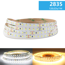DC 24V 2835 PC LED Strip Tape Warm White LED Strip Light DC 24V 5M Rope 120Leds 240Leds Home Decor TV Backlight