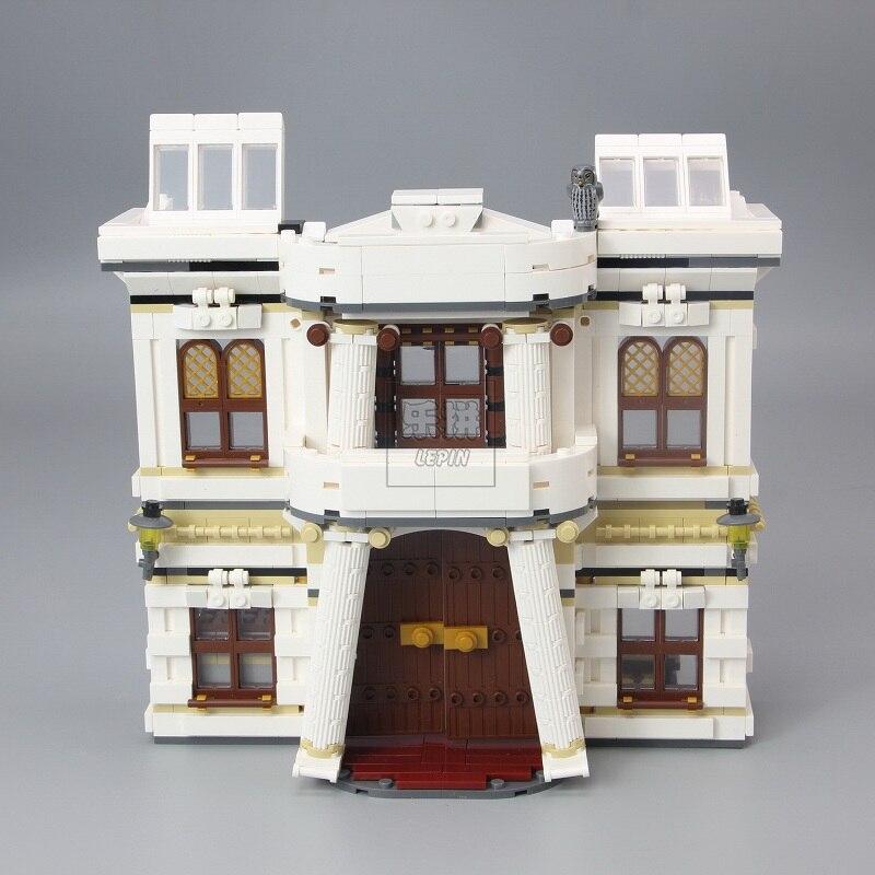 710436742 шт Поттер фильм серии замок Волшебная Модель Строительный блок Набор блоков, игрушки для детей Рождественский подарок совместим с 16060 - 2