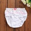 Kids Children Underwear Undies Girls Panties Loose cotton lace Briefs cloth hot random color free shipping