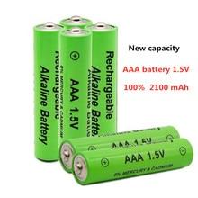 Новинка AAA батарея 2200mah 1,5 V Щелочная AAA аккумуляторная батарея для дистанционного управления игрушечный светильник Batery