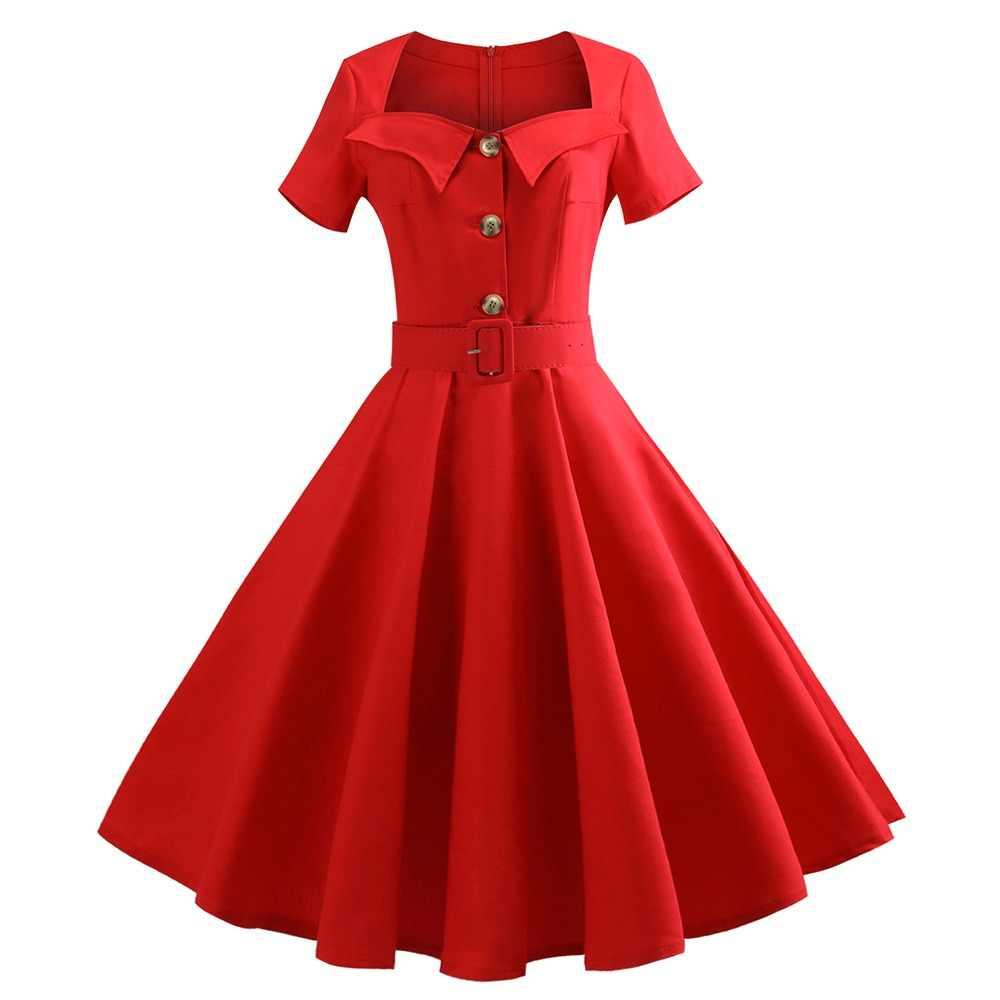 747711e81f75 Sisjuly Women Dress Vintage Plus Size A-Line Elegant Fashion Belt Summer  5XL Swing Dress