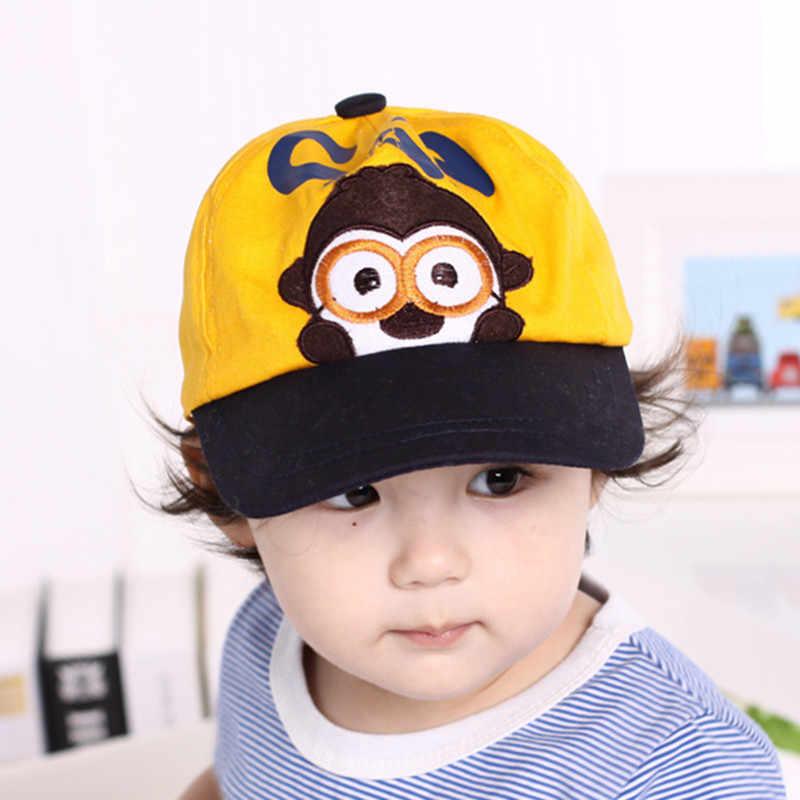 ฤดูหนาวฤดูใบไม้ร่วงการ์ตูนเด็กหมวกเด็ก Boy ปรับเบสบอลหมวกเด็กสาวหมวกเด็ก SnapBack Hip-Hop Sun Hat