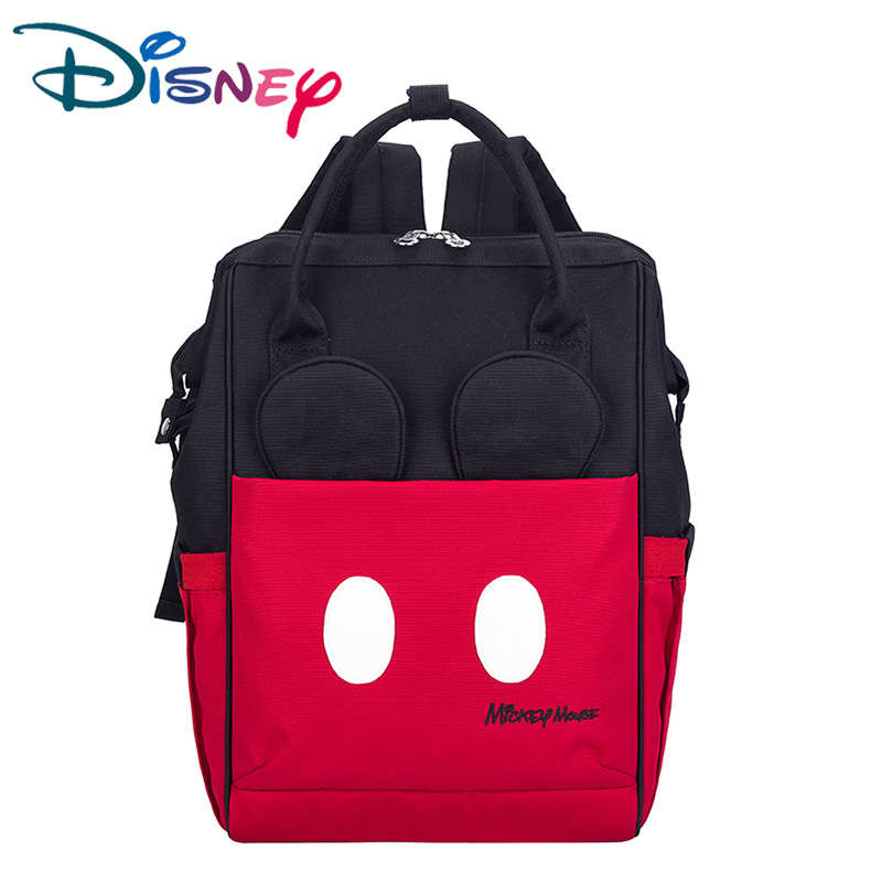Disney Minnie Mickey Backpack Multifunction Large Capacity Baby Diaper Bag Baby Stroller Travel Mummy Bag-in Diaper Bags from Mother & Kids    1