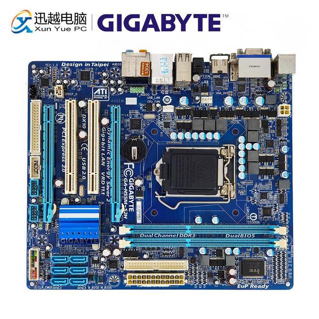Gigabyte GA H55M S2H Desktop Motherboard H55M S2H H55 LGA 1156 i3 i5