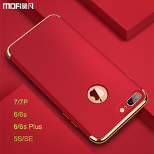 MOFi For iphone 5s case for iphone 7 plus case Red for iphone 7 case SE cover for iphone 6s plus cover capa coque funda luxury