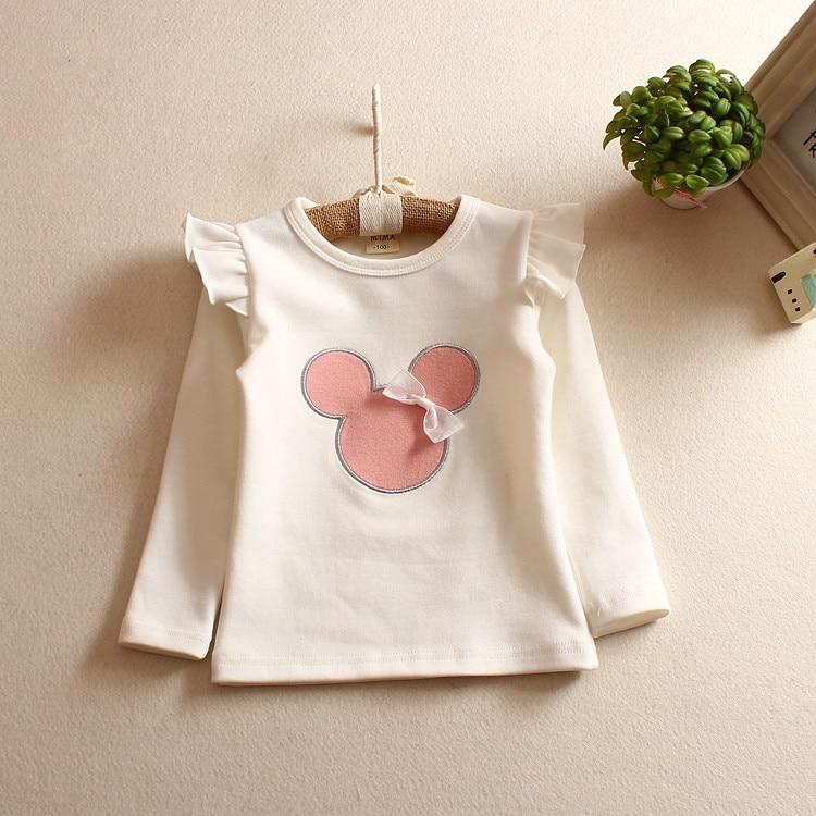Fashion Style Toddler Қыздар футболка Top Pattern - Балалар киімі - фото 3