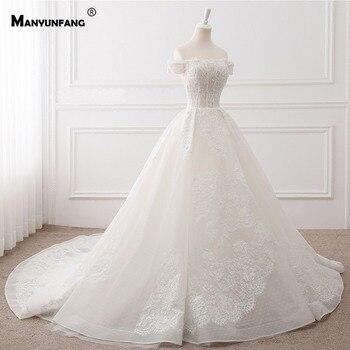 mangas cuello barco vestidos de novia sencillo delicado cuentas tul