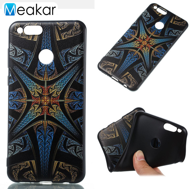 Relief Painted Pattern Soft Silicon 5.0For Huawei Honor 7X Case For Huawei...