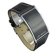 2016 New LED Date Digital Women Men  Students Girls Boys  Sports Leather Bracelet Wrist Watch relogio masculino  Z508 5Up