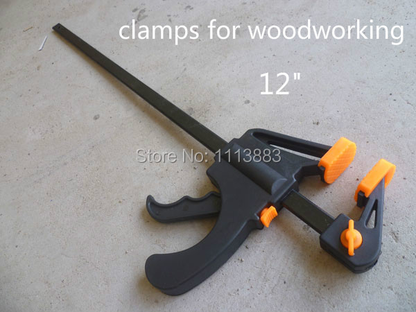12 Inch Durable F Type Woodworking Clips Clamps For Household