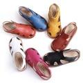 Crianças sandálias meninas meninos sandálias crianças sandálias de couro sandálias de praia verão recortes de sapatos de crianças